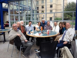 Fordham History Faculty  at the Lincoln Center Campus