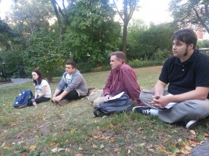 Class in the Park 1