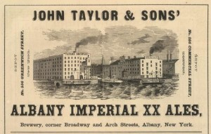 John Taylor & Sons, the brewery at the center of a libel lawsuit brought against the teetotaler Edward Delavan