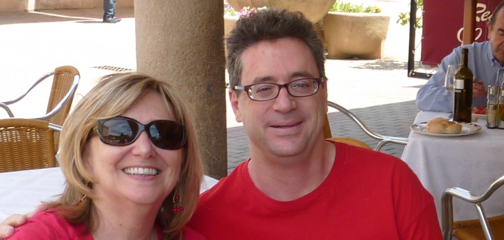 Chris Schmidt-Nowara and Beth Penry in Toro, June 2011