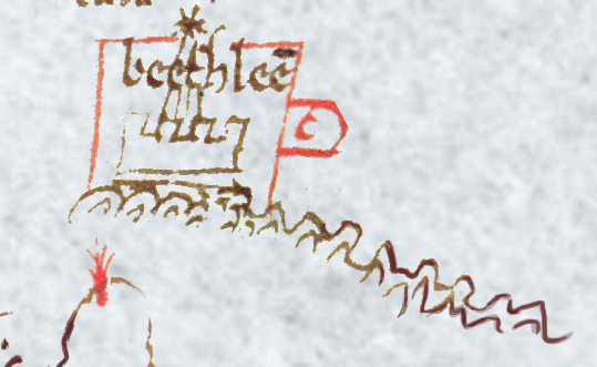 Bethlehem, from the Oxford Outremer Map
