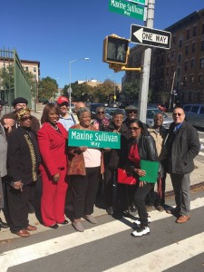 Street Naming Event For Jazz Singer Maxine Sullivan Based on BAAHP Research
