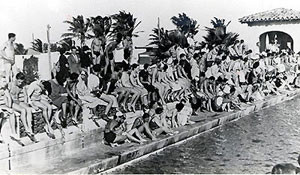 1938 College Coaches' Swim Forum source: thenewshouse.com