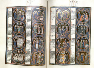 The St. Louis Bible from the Leach Collection. To learn more about this collection read about it on here on the Medieval Studies blog