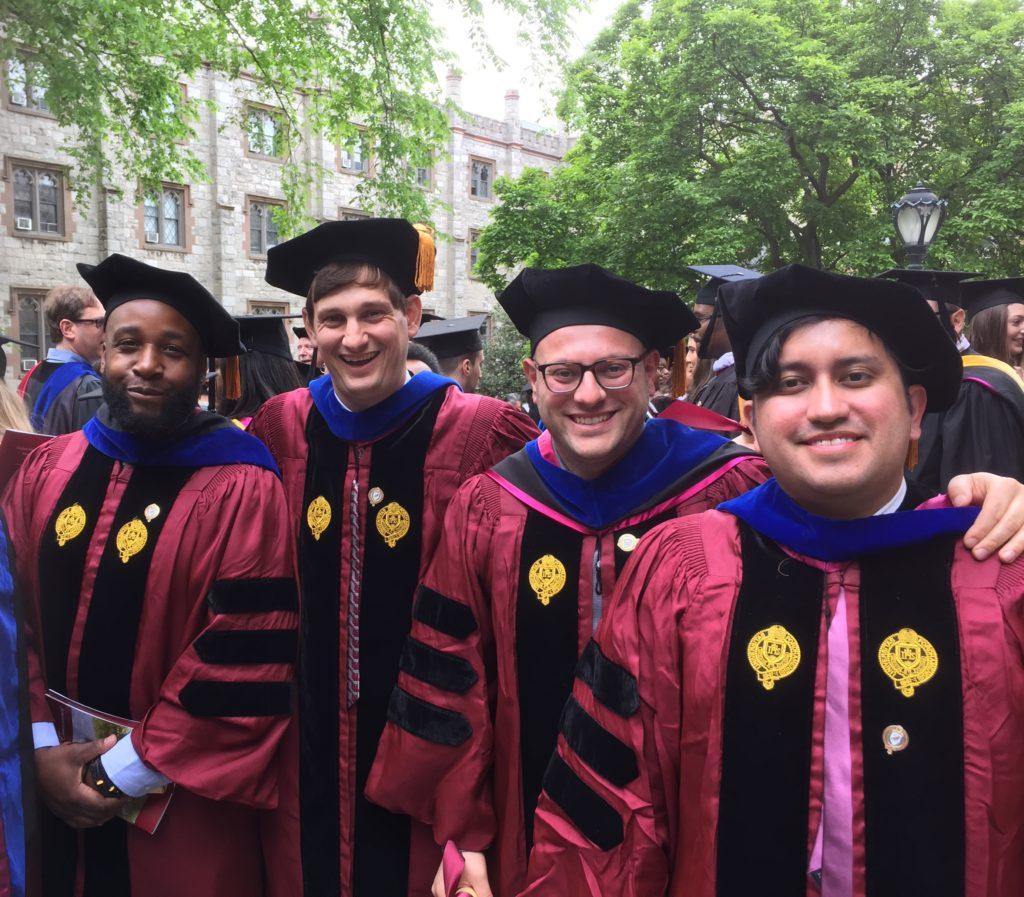 (l-r) Drs. Clifton Watson, Brandon Gauthier, Alessandro Saluppo, and Louie Valencia Garcia