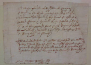 eventeenth Century Judgment of the Jurors of Romney Marsh Concerning the Sale of Soil for Sea-Wall Huntington Library Battle Abbey Collections 56 A Photograph by Tobias Hrynick